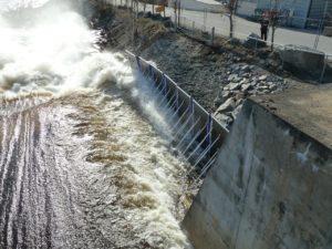 AquaFence Floodwall Baustellensicherung